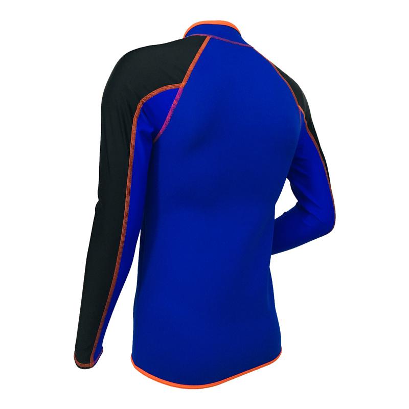 1.5mm 成人防曬保暖夾克 - 藍