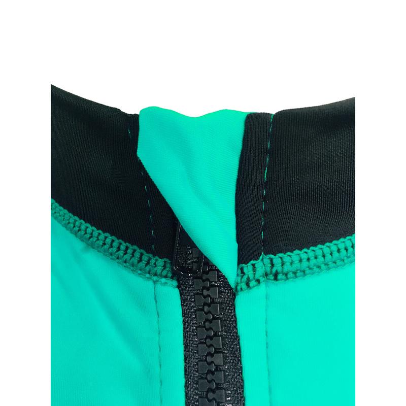 成人防曬夾克 - 薄荷綠/黑