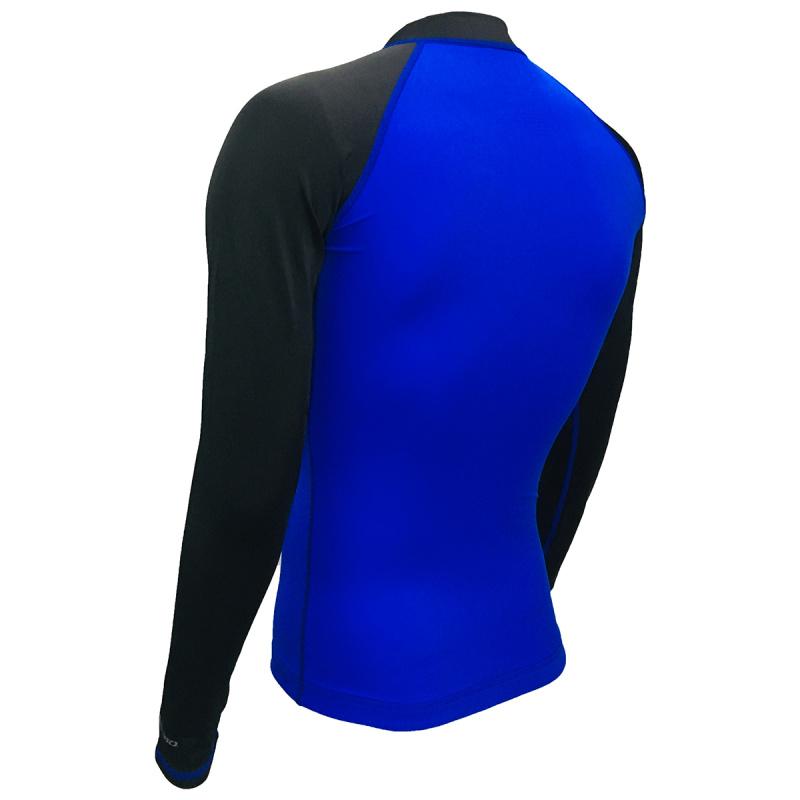 成人防曬夾克 - 藍/黑