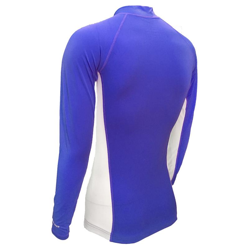 成人防曬夾克 - 藍