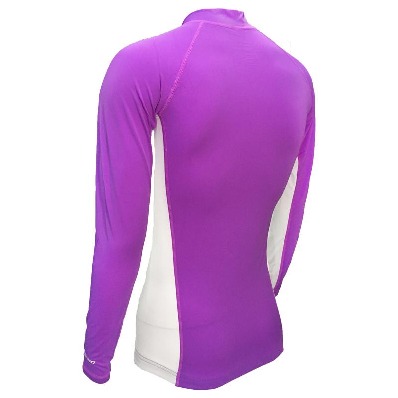 成人防曬夾克 - 紫