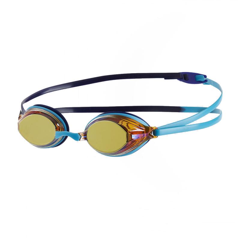 成人 Vengeance 競賽訓練鍍膜泳鏡 - 綠松石/深藍