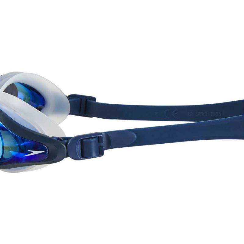 成人 Mariner Supreme 基礎訓練鍍膜泳鏡 - 透明/深藍