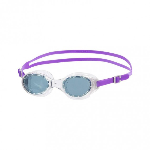 女士經典柔軟舒適泳鏡 - 灰/紫