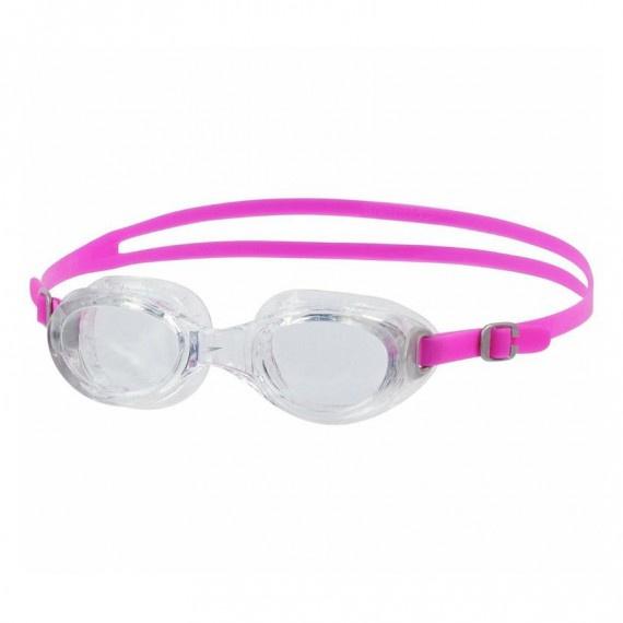 女士經典柔軟舒適泳鏡 - 透明/粉紅