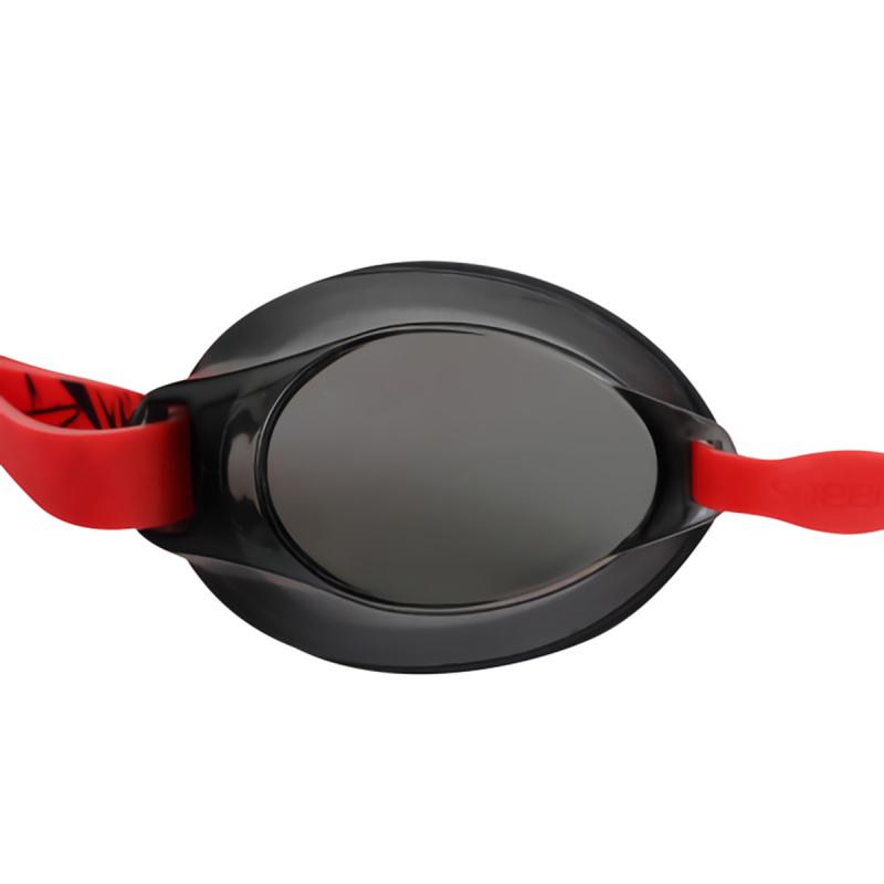 成人經典習泳訓練泳鏡 - 紅/黑