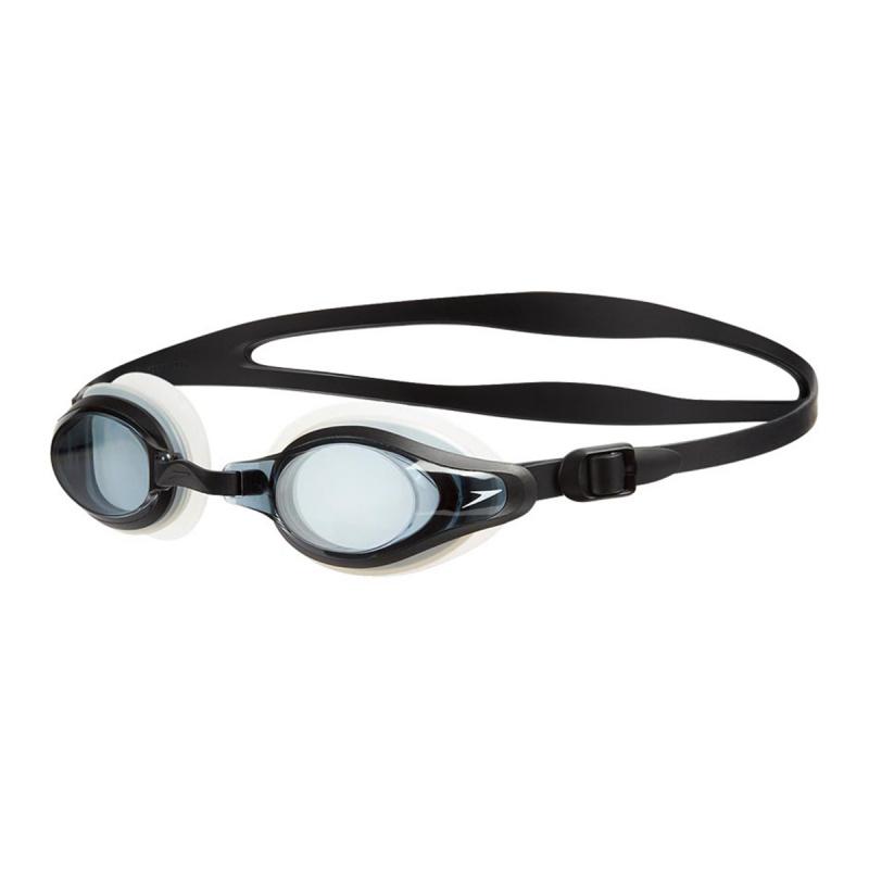 成人 Mariner Supreme 基礎訓練近視泳鏡 - 透明/黑