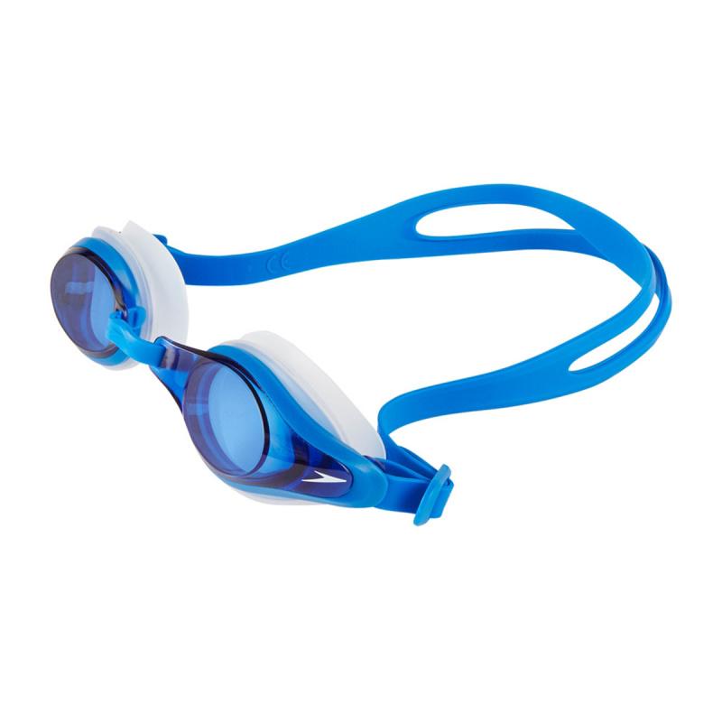 成人 Mariner Supreme 基礎訓練近視泳鏡 - 透明/藍
