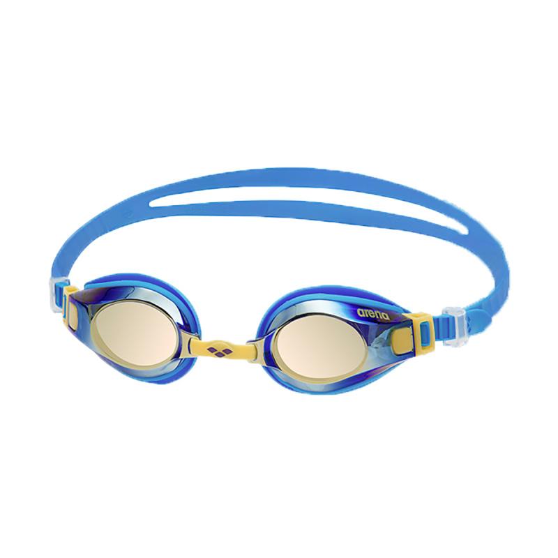 少年鍍膜泳鏡 - 藍