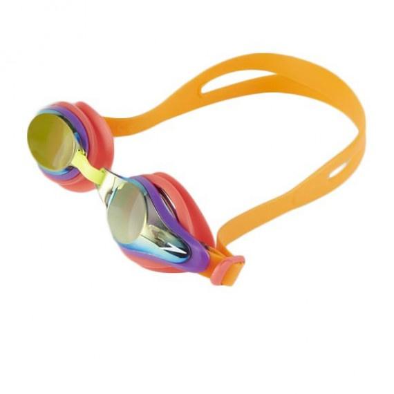少年 Mariner Supreme 基礎訓練鍍膜泳鏡 - 橙/紅/金