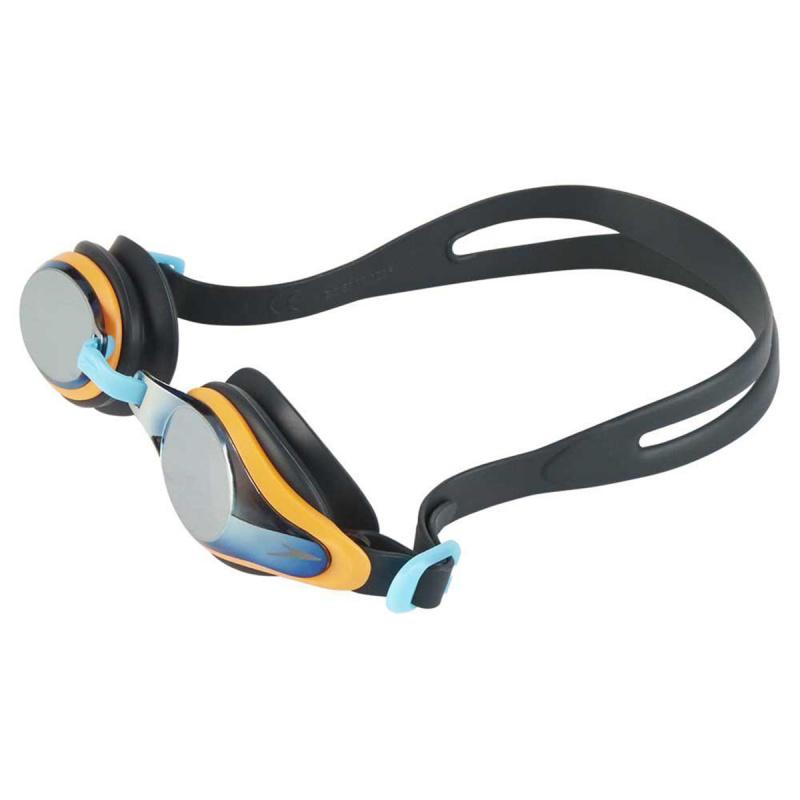 少年 Mariner Supreme 基礎訓練鍍膜泳鏡 - 灰/橙/鈦
