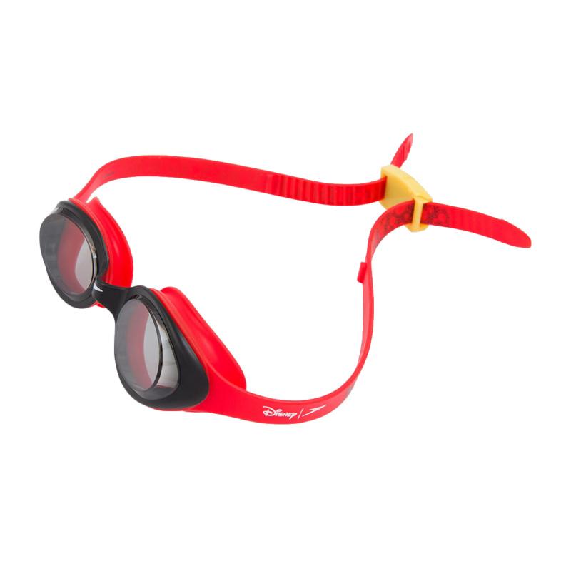 少年米奇老鼠泳鏡 - 紅/黑