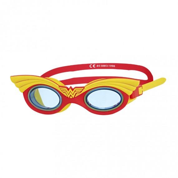 神奇女俠角色造型泳鏡 - 紅/黃