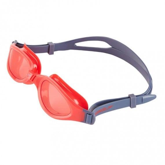 少年經典防霧護眼泳鏡 - 紅/灰