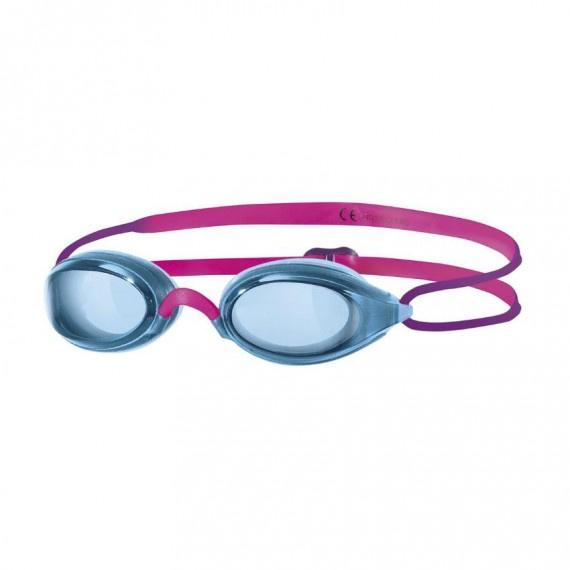 少年氣墊競賽泳鏡 - 藍/紫