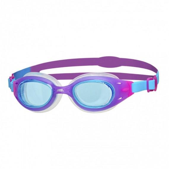 少年氣墊泳鏡 - 紫/藍