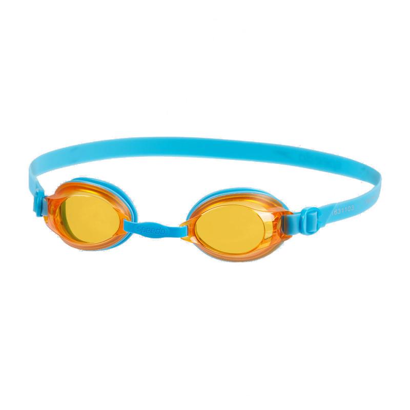 少年 Jet 基礎習泳泳鏡 - 藍/橙