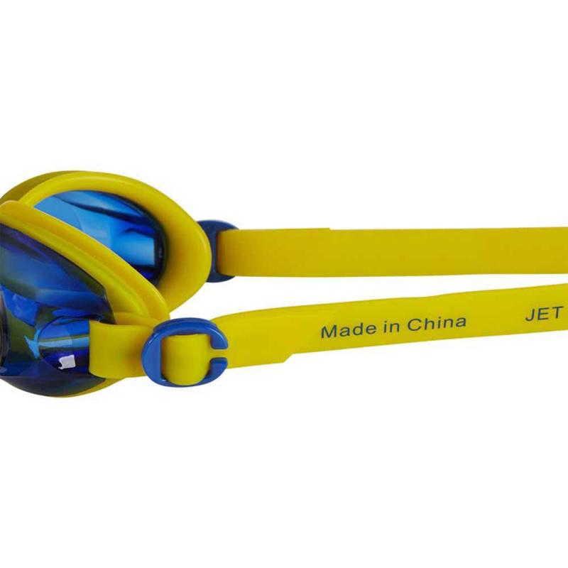 少年 Jet 基礎習泳泳鏡 - 黃/深藍