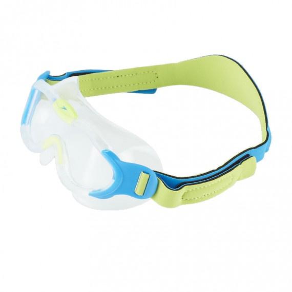 幼童海洋Q隊習泳面鏡 - 綠/藍