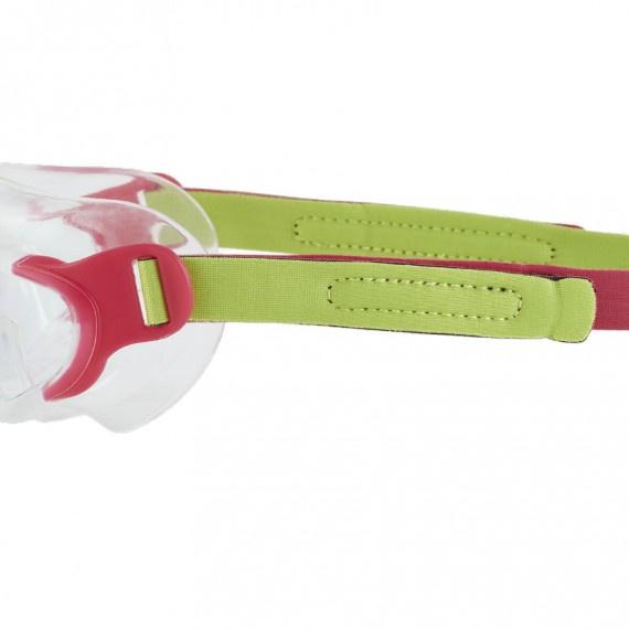幼童海洋Q隊習泳面鏡 - 綠/粉紅