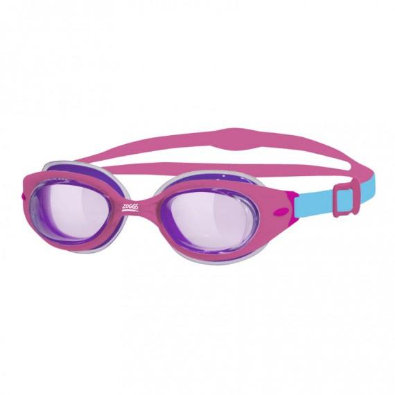 幼童氣墊泳鏡 - 粉紅/紫