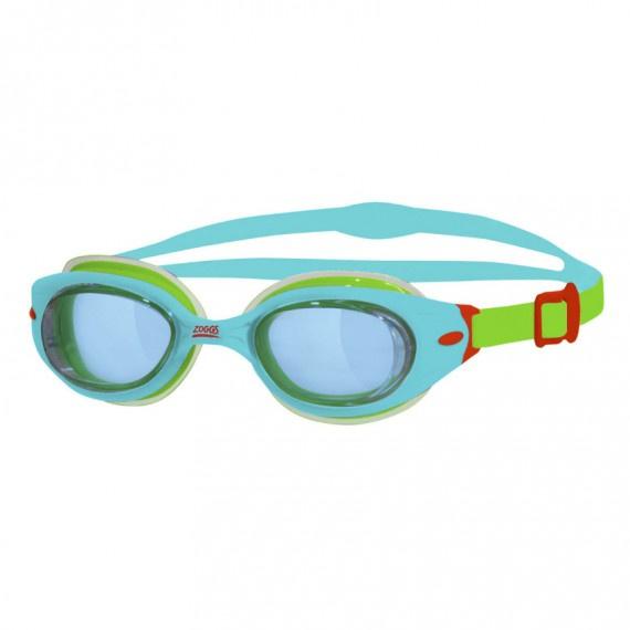 幼童氣墊泳鏡 - 湖水綠/綠