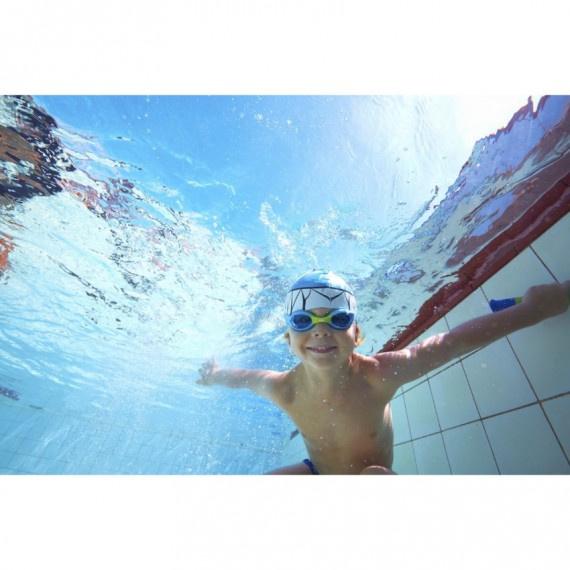 幼童小海豹泳鏡 - 藍/綠