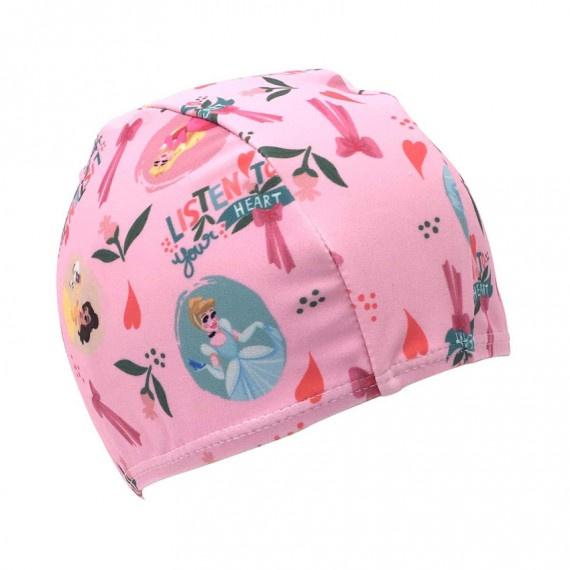 迪士尼公主萊卡布泳帽 - 粉紅