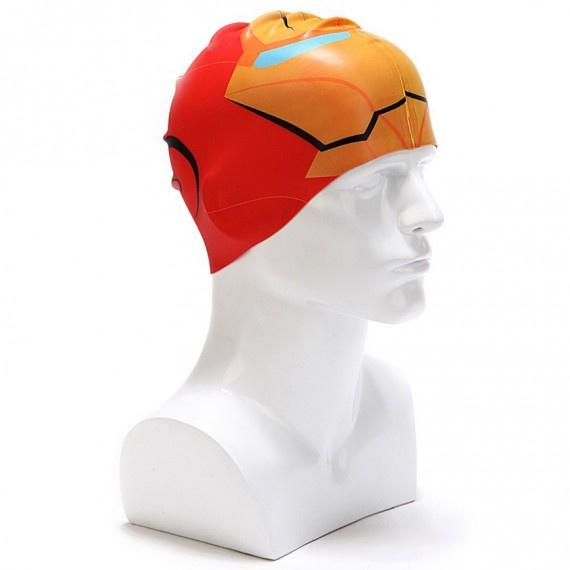 矽膠泳帽 - 紅/橙