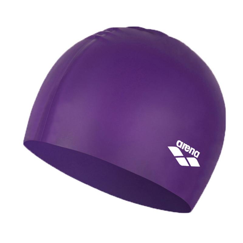 成人模壓矽膠泳帽 - 紫