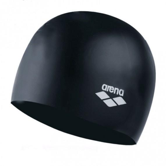 成人模壓矽膠泳帽 - 黑