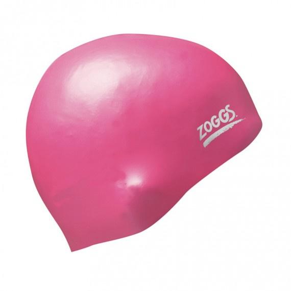 成人超柔軟矽膠泳帽 - 粉紅