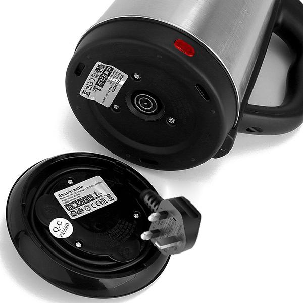 日本JTSK - HAEGER家用不銹鋼電熱水壺2.0L大容量--快速加熱2200W
