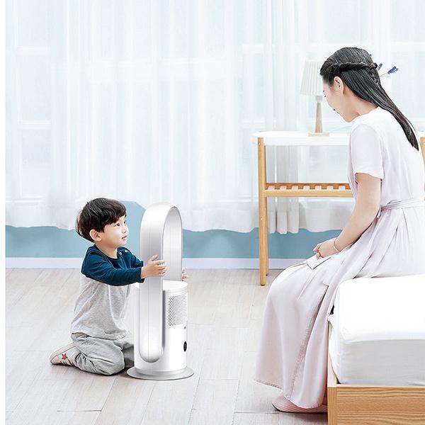 日本JTSK - 新款UV殺菌空氣淨化電風扇無葉空氣循環扇