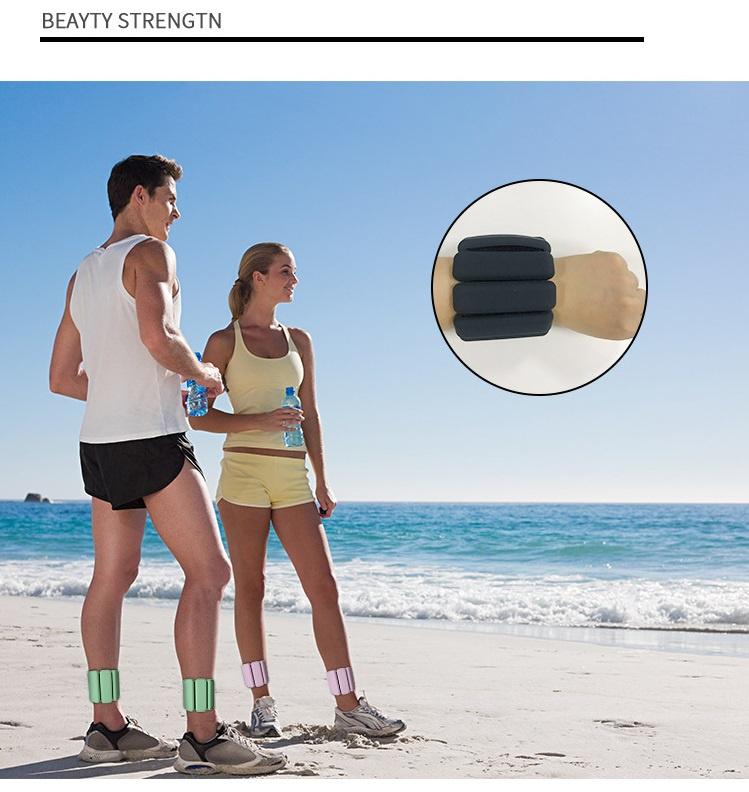 踝部和腕部負重帶 瑜伽 跑步 運動 舉重 練習 (一對)