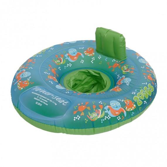 Zoggy 幼童坐式游泳圈 (3-12個月) - 綠