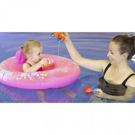 Miss Zoggy 幼童坐式游泳圈 (12-18個月) - 粉紅
