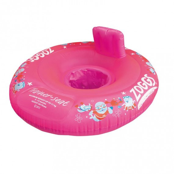 Miss Zoggy 幼童坐式游泳圈 (3-12個月) - 粉紅