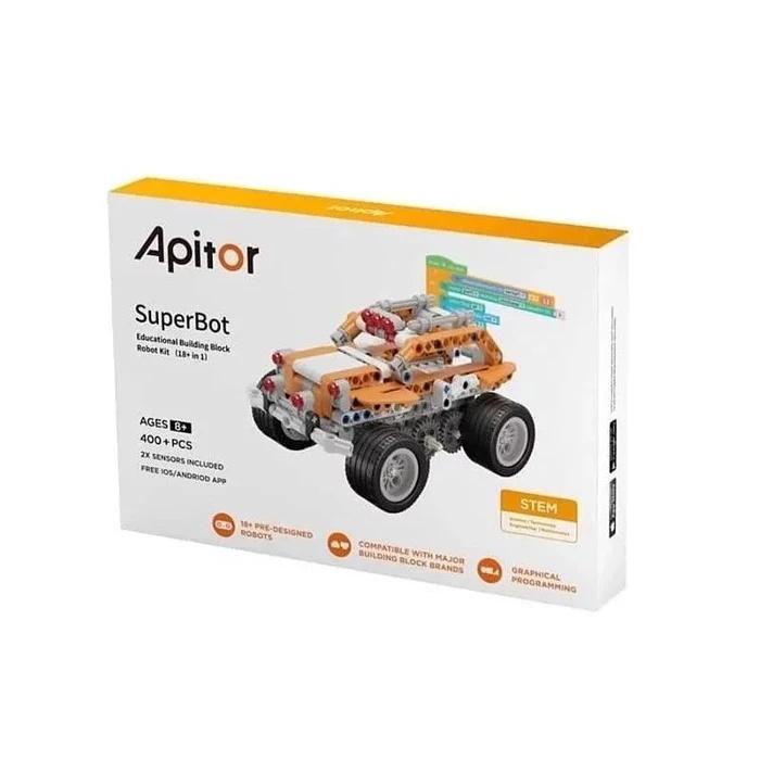 Apitor SuperBot 18合1樂學程式積木 教學機械人