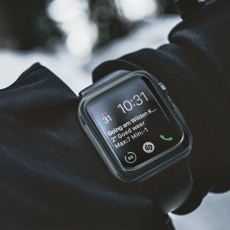 Apple Watch 40/44mm Garde全包覆輕薄透明防撞保護套