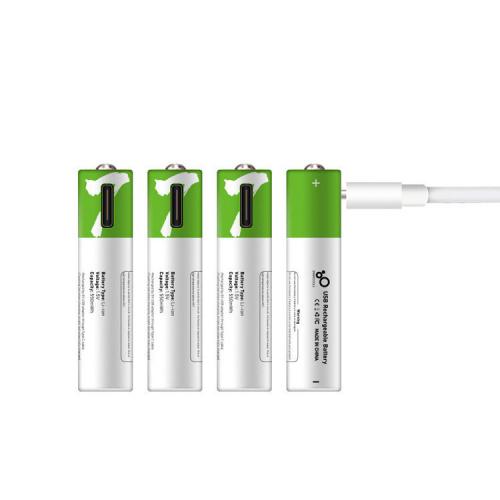 1.5V USB Type-C 循環充電 鋰電池 [4粒裝/16粒裝] [2款]