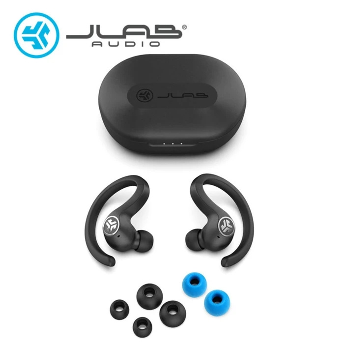 JLab Audio Jbuds Air Sport 防汗掛耳式真無線藍芽耳機
