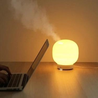 【原裝行貨】韓國POUT NOSE2 超聲波充水加濕器連LED燈