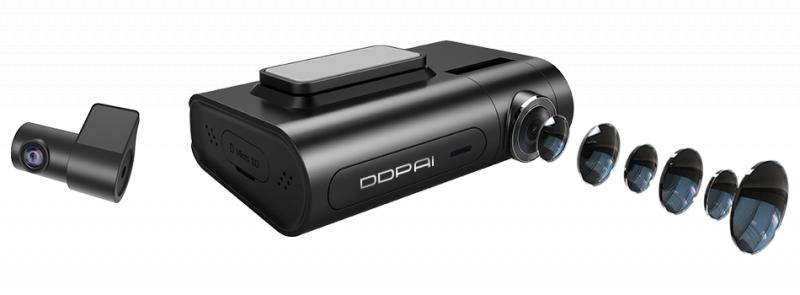 DDPAI X2S Pro 超高清前後雙鏡行車記錄儀