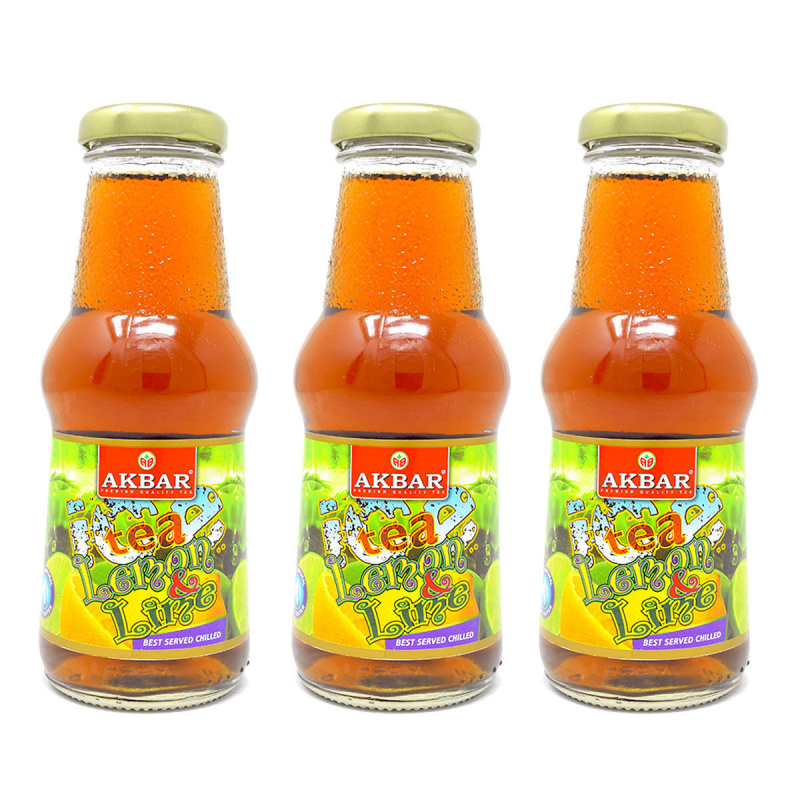 AKBAR 檸檬青檸冰茶3支裝