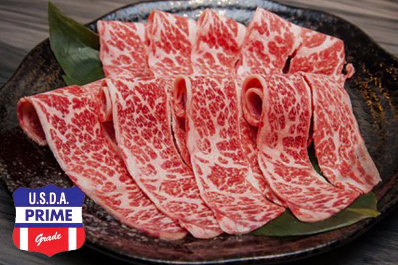 美國 Prime Grade 牛小排火鍋片