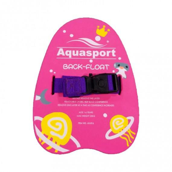 訓練浮背 - 粉紅/紫