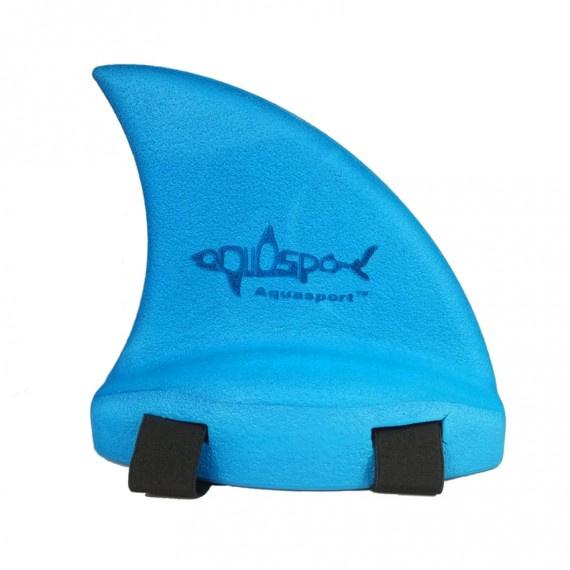鯊魚鰭浮背 - 藍