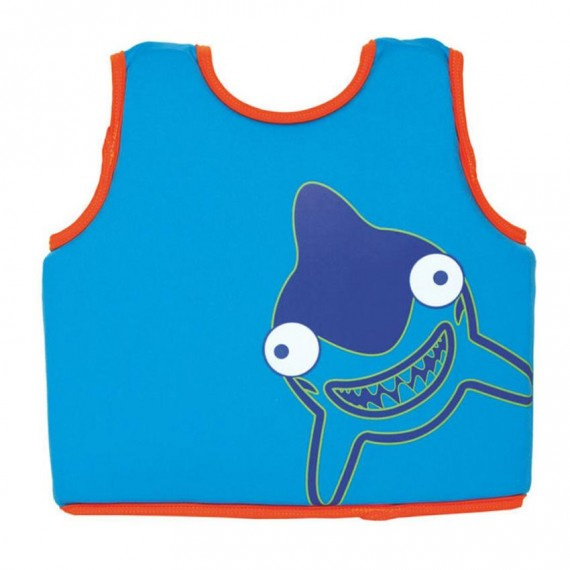 幼童海洋Q隊助浮背心 - 藍
