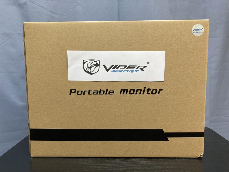 "Viper 4K UHD & 1080P FHD 15.6"" 超薄便攜屏幕 (內置電池及觸屏)"